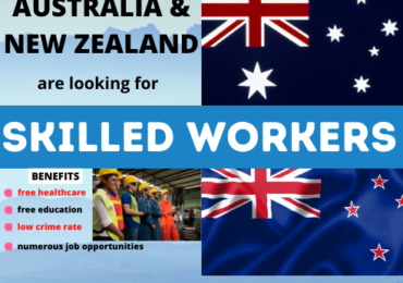 AUSTRALIA AND NEW ZEALAND ARE LOOKING FOR SKILLED WORKERS